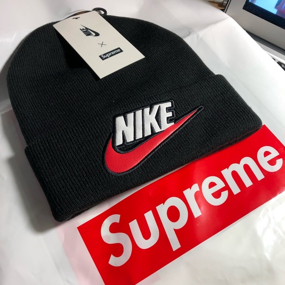 31a416ff3da Supreme x Nike beanie black